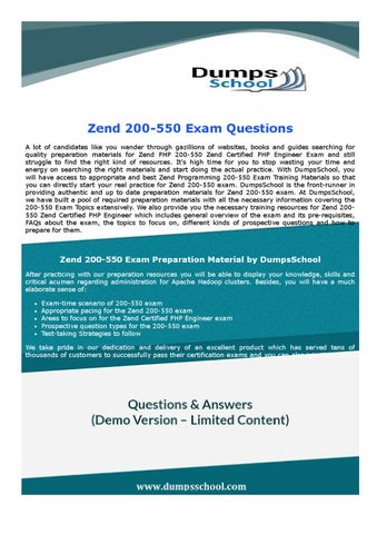 The zend php certification practice test book practice questions.