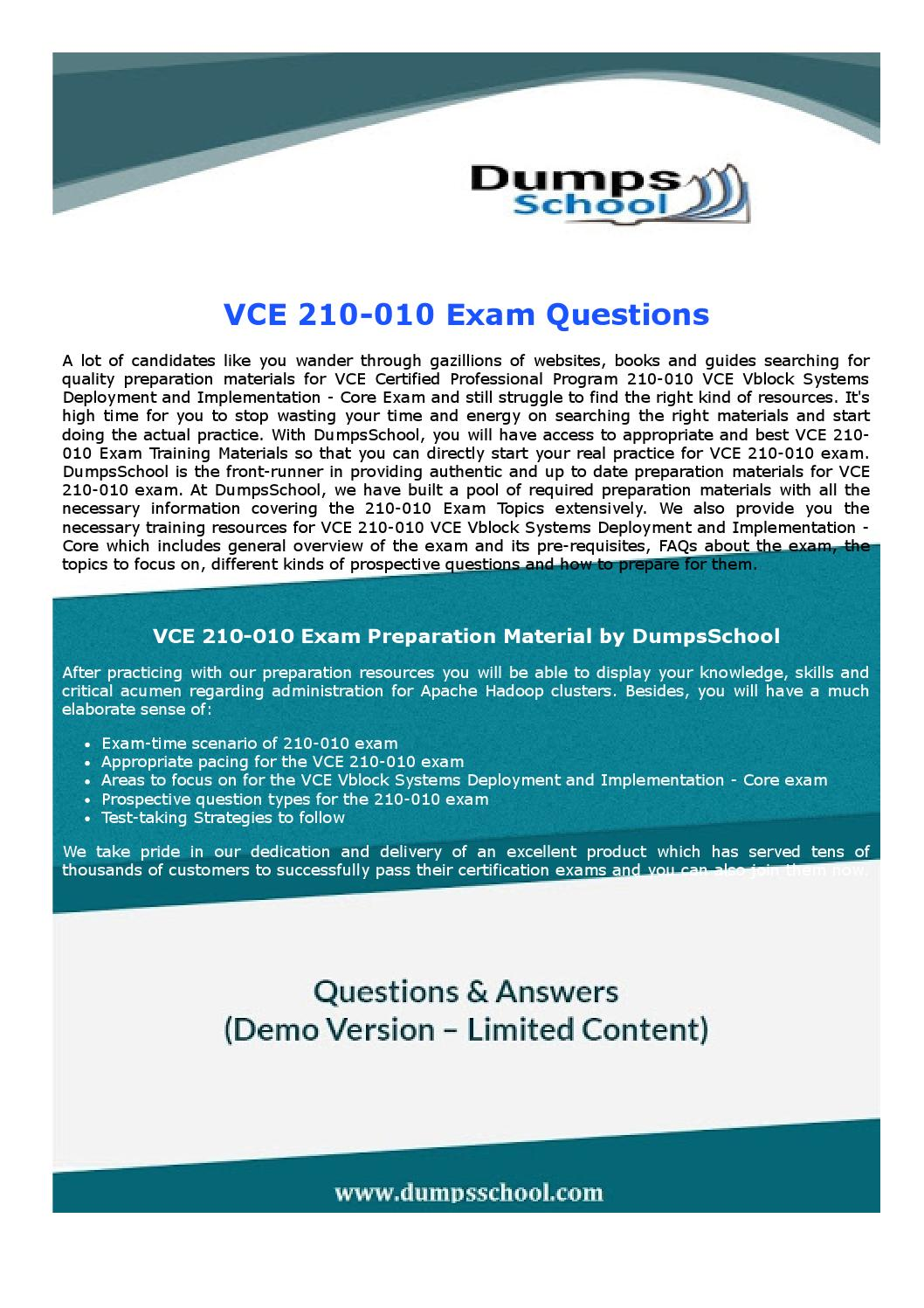 210 010 vce exam recommendations by robertharris issuu 1betcityfo Choice Image