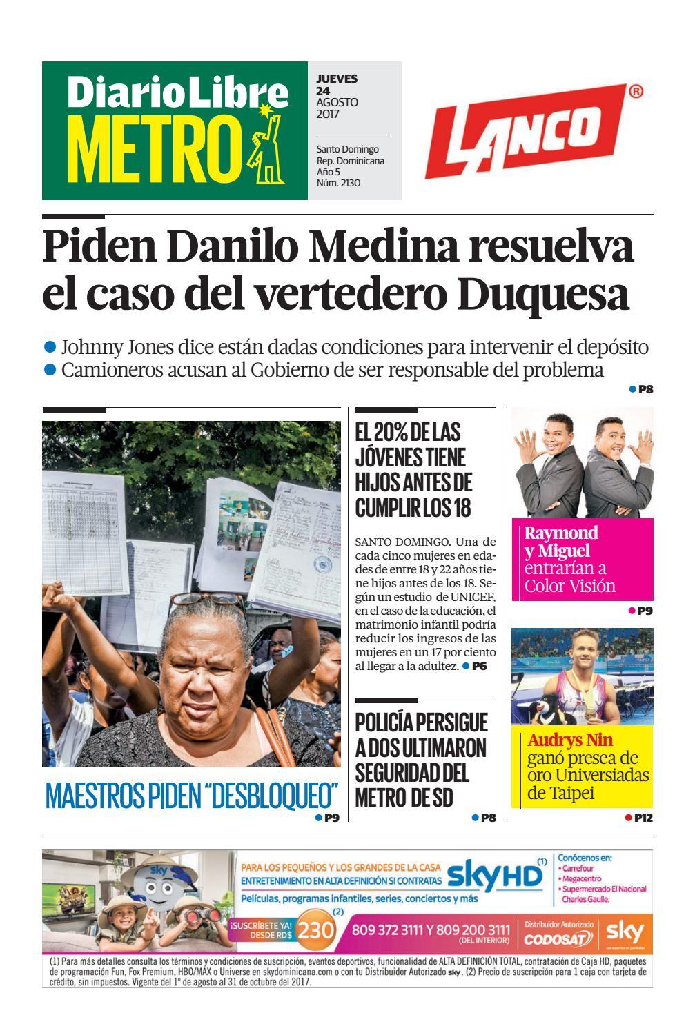7ca39163252d1 Diariolibremetro2130 by Diario Libre - issuu