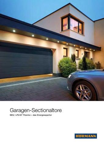 Garage innen gestalten  Hörmann Garagen-Sectionaltore by Werbeagentur 4c media - issuu