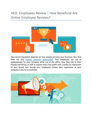 HED : Employees Review | How Beneficial Are Online Employee Reviews ...