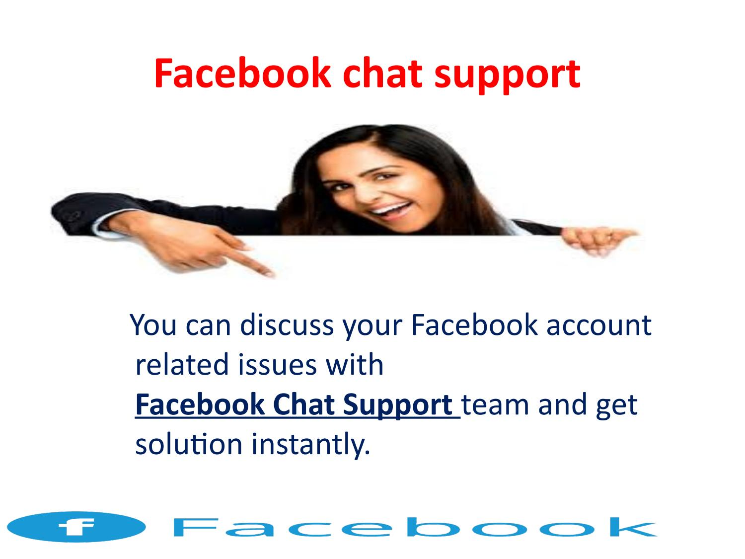 Facebook help desk chat support | Live Service by Angela
