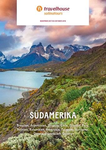 Travelhouse Südamerika – November 17 bis Oktober 18 by Hotelplan ...
