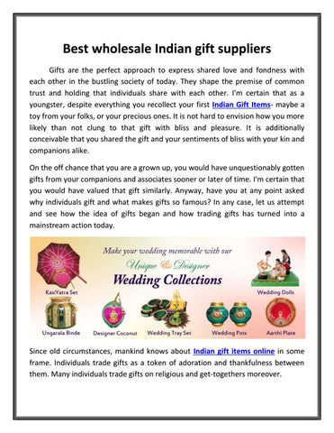 Best wholesale indian gift suppliers indiaethinix by