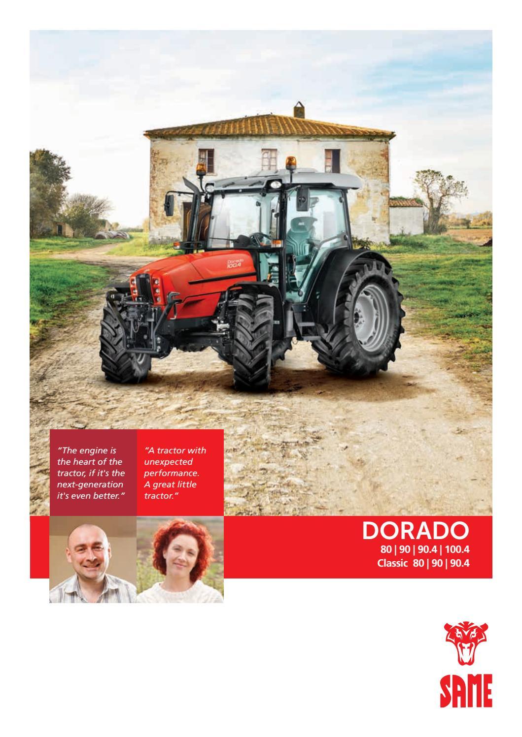 Same Dorado Classic Brochure English By Tractors Issuu Ls Tractor Radio Wiring