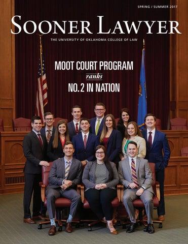 Sooner Lawyer: Spring-Summer 2017 by University of Oklahoma