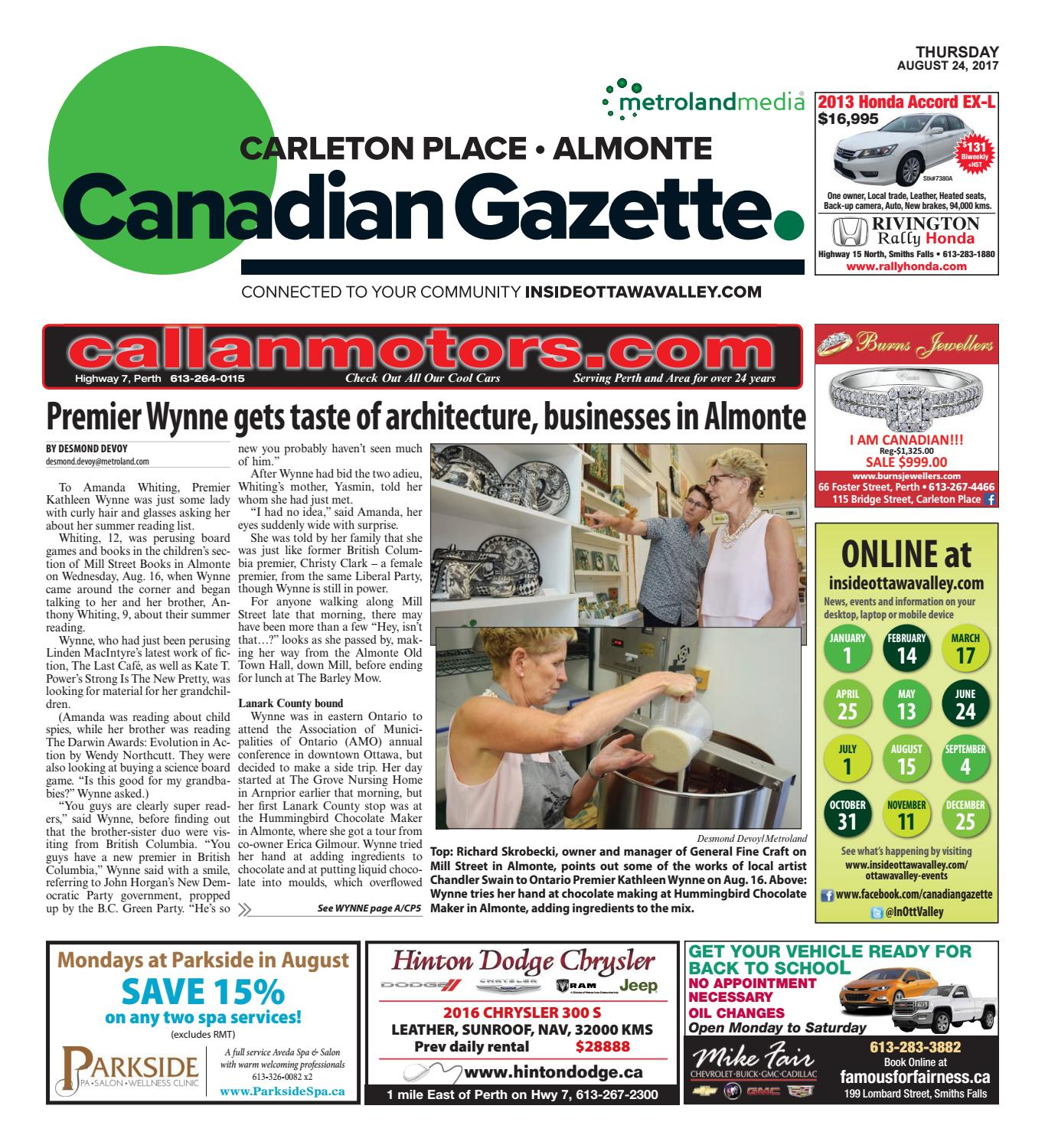 Almontecarletonplace082417 by metroland east almonte carleton almontecarletonplace082417 by metroland east almonte carleton place canadian gazette issuu fandeluxe Gallery