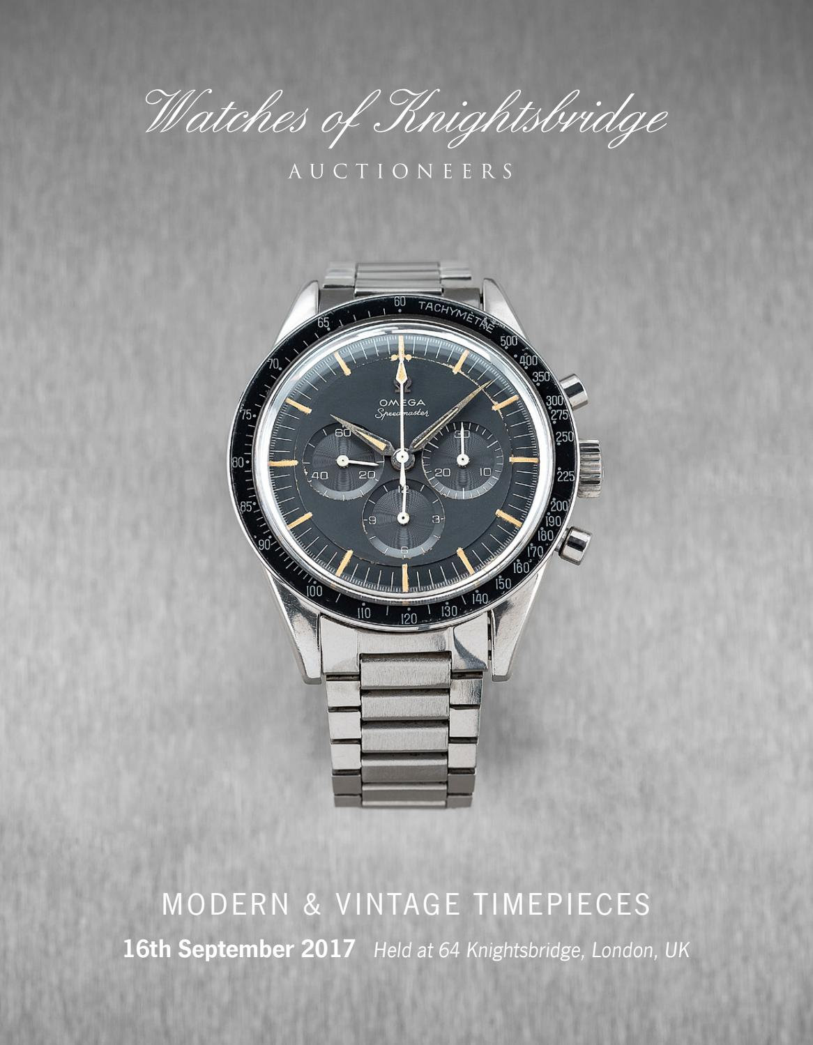 Watches Of Knightsbridge 16 September Catalogue By Auction Rolex Parts Diagram For Cal 3035 1 Gent39s Datejust As It Technology Group Issuu