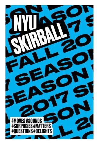 NYU Skirball Brochure — FALL 2017 by NYU Campus Services - issuu