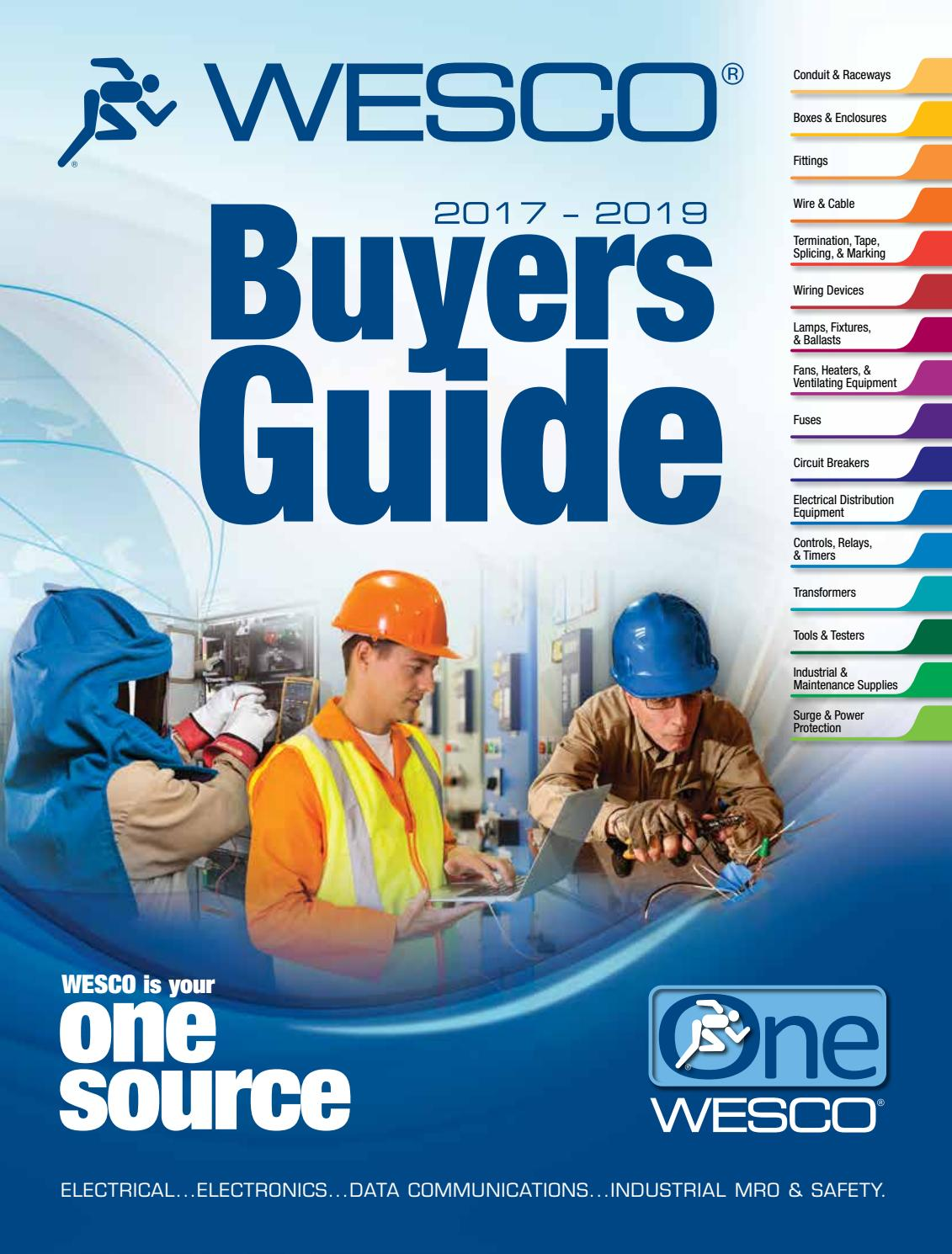 2017 2019 Wesco Electrical Buyers Guide By Distribution Issuu Cat Hotel Furthermore How To Wire An Gfci Outlet Wiring