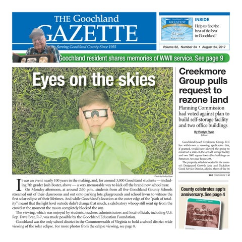 08 24 2017 By Goochland Gazette Issuu