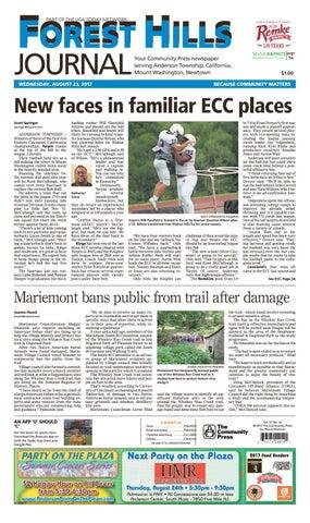 Forest hills journal 082317 by Enquirer Media - issuu 3172b2cbd1