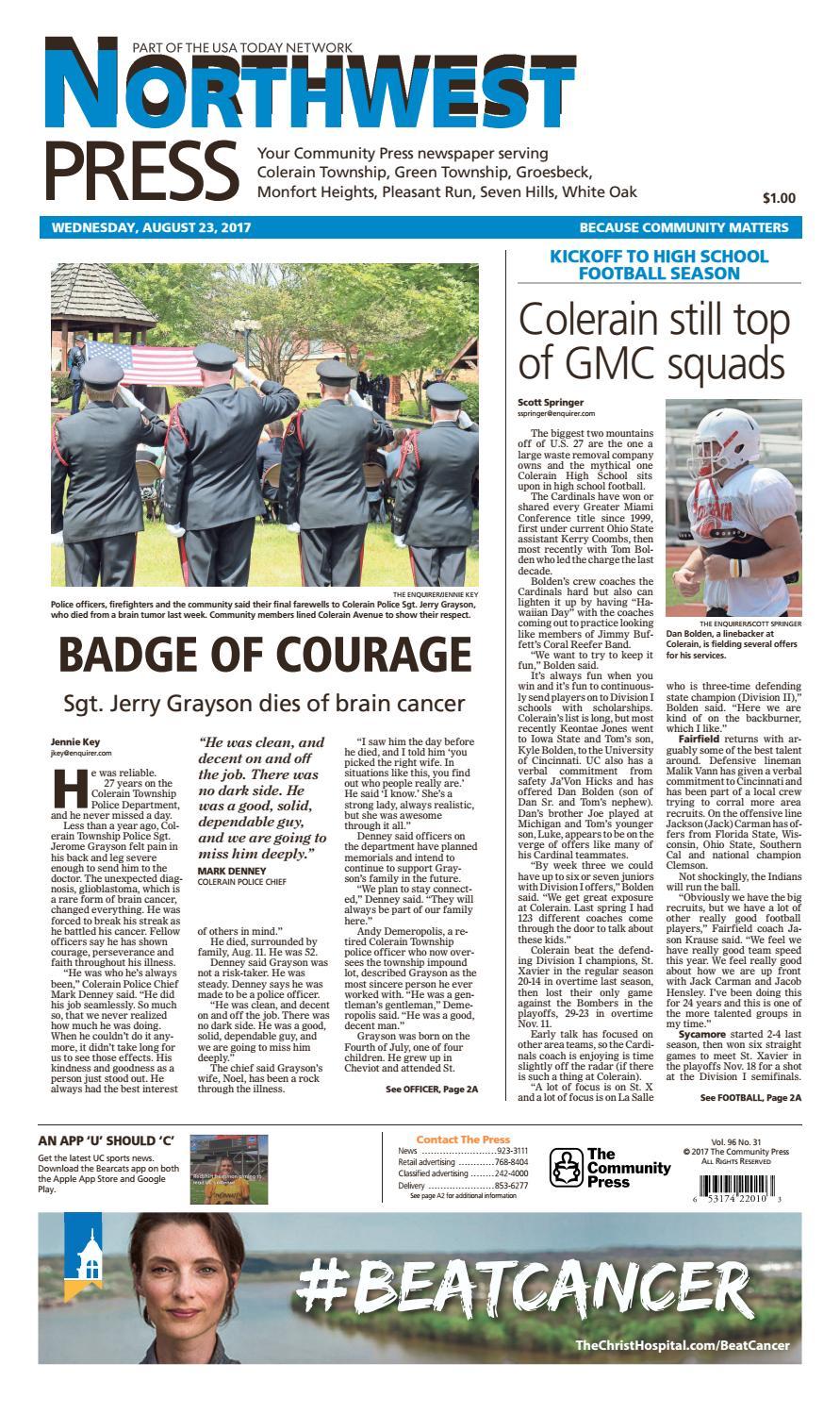 Northwest press 082317 by Enquirer Media - issuu