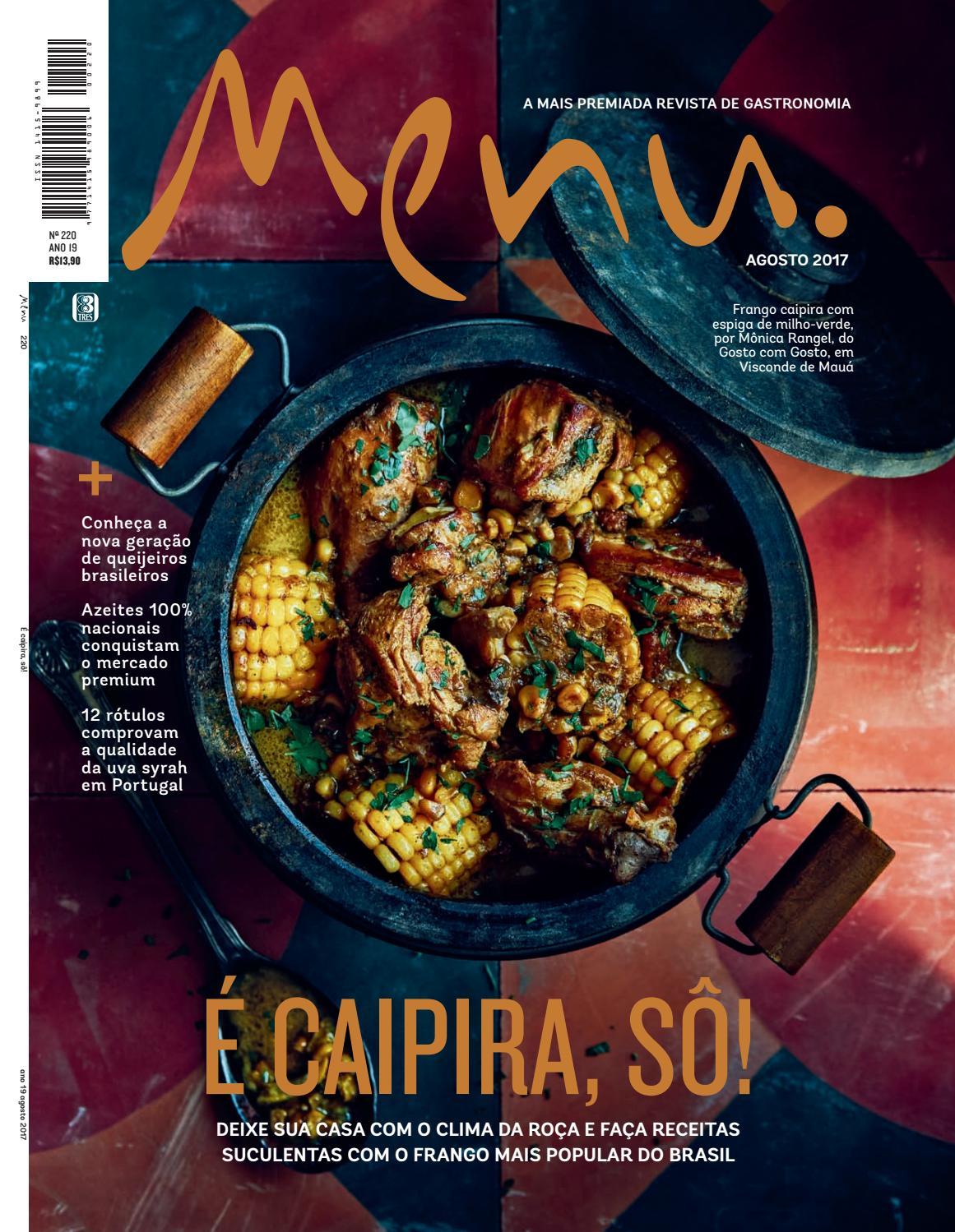 ff456940e44 Menu 220 by Editora 3 - issuu