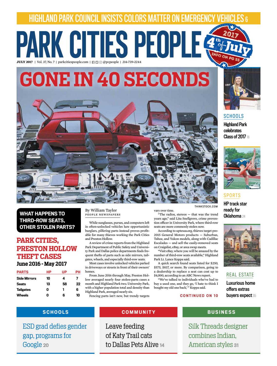 Park Cities People July 2017 By People Newspapers Issuu