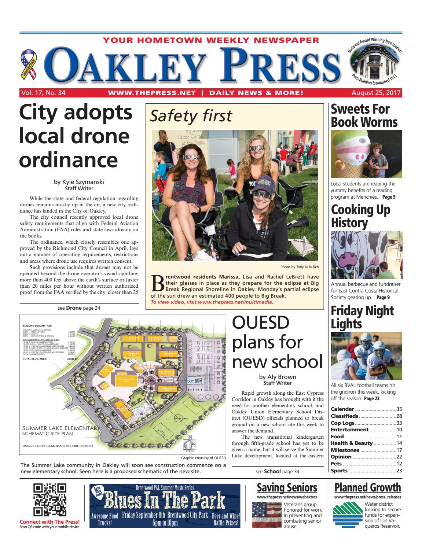 Oakley Press 08 25 17 by Brentwood Press & Publishing - issuu