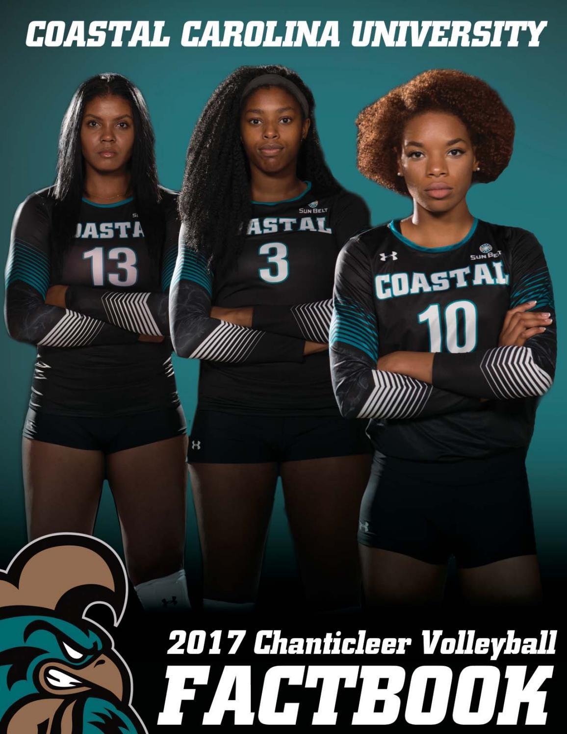 2017 Coastal Carolina Volleyball Fact Book By Kevin Davis Issuu
