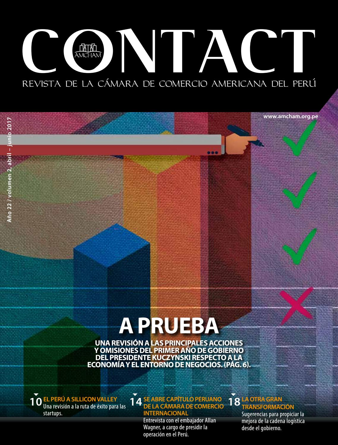 Revista CONTACT, Abril-Junio 2017 by AmCham Perú - issuu