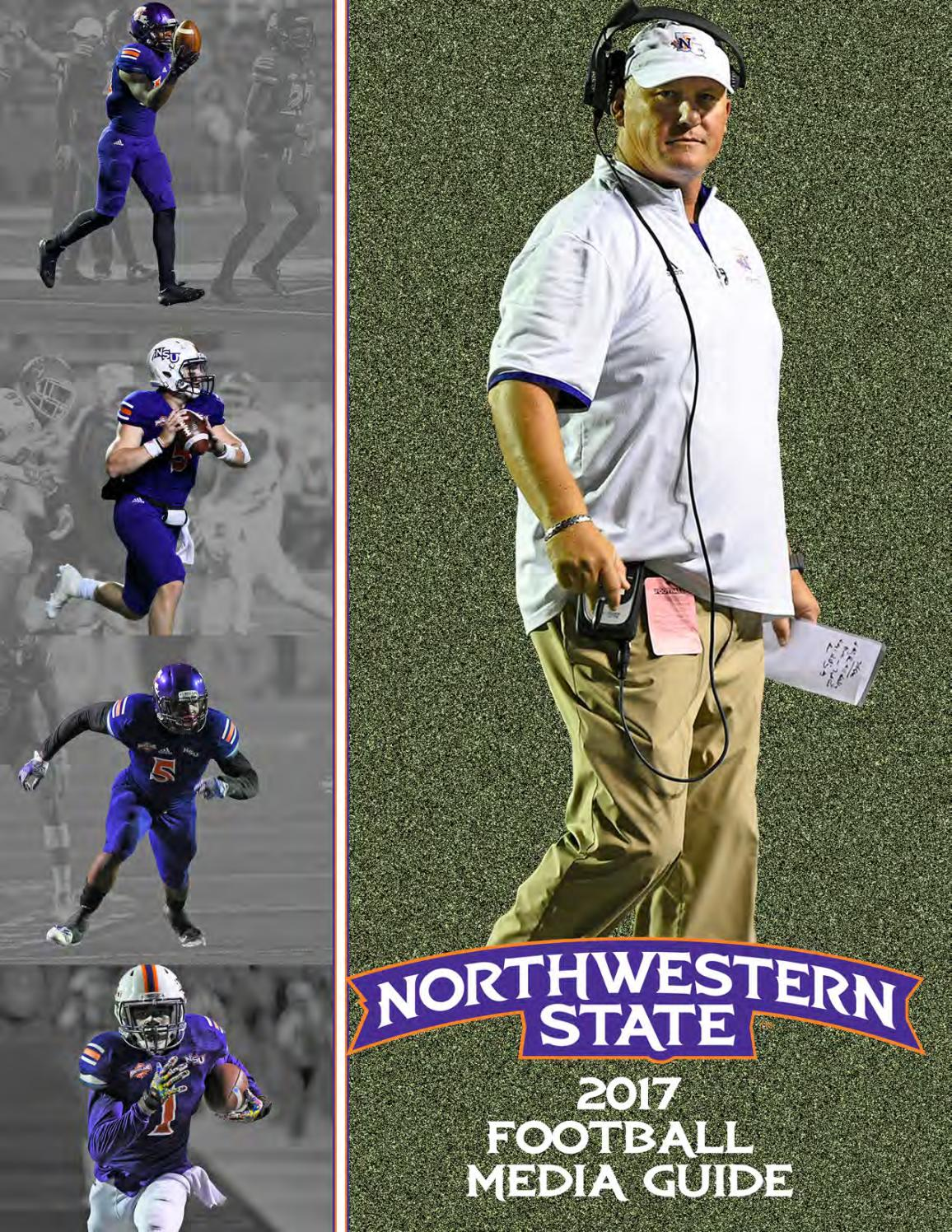 55c86536058 2017 Northwestern State Football Media Guide by Northwestern State Sports  Information - issuu