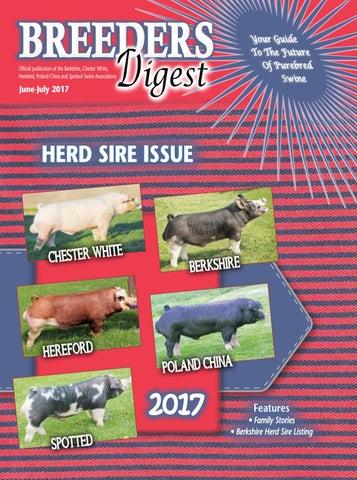 June/July 2017 Breeders Digest by SJC Marketing - issuu