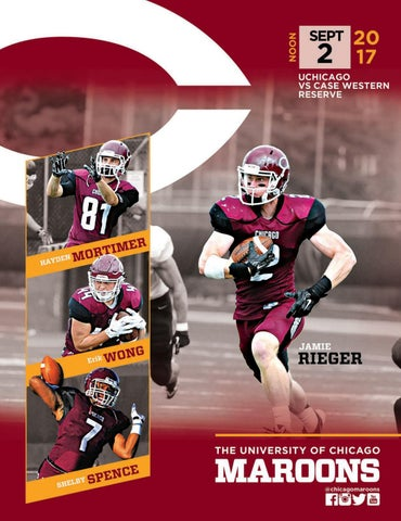 a922a85bf University of Chicago Football Yearbook 2017 by University of ...