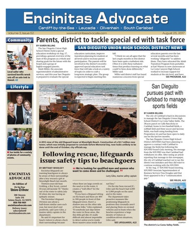 Encinitas Advocate 08 25 17 By Mainstreet Media Issuu