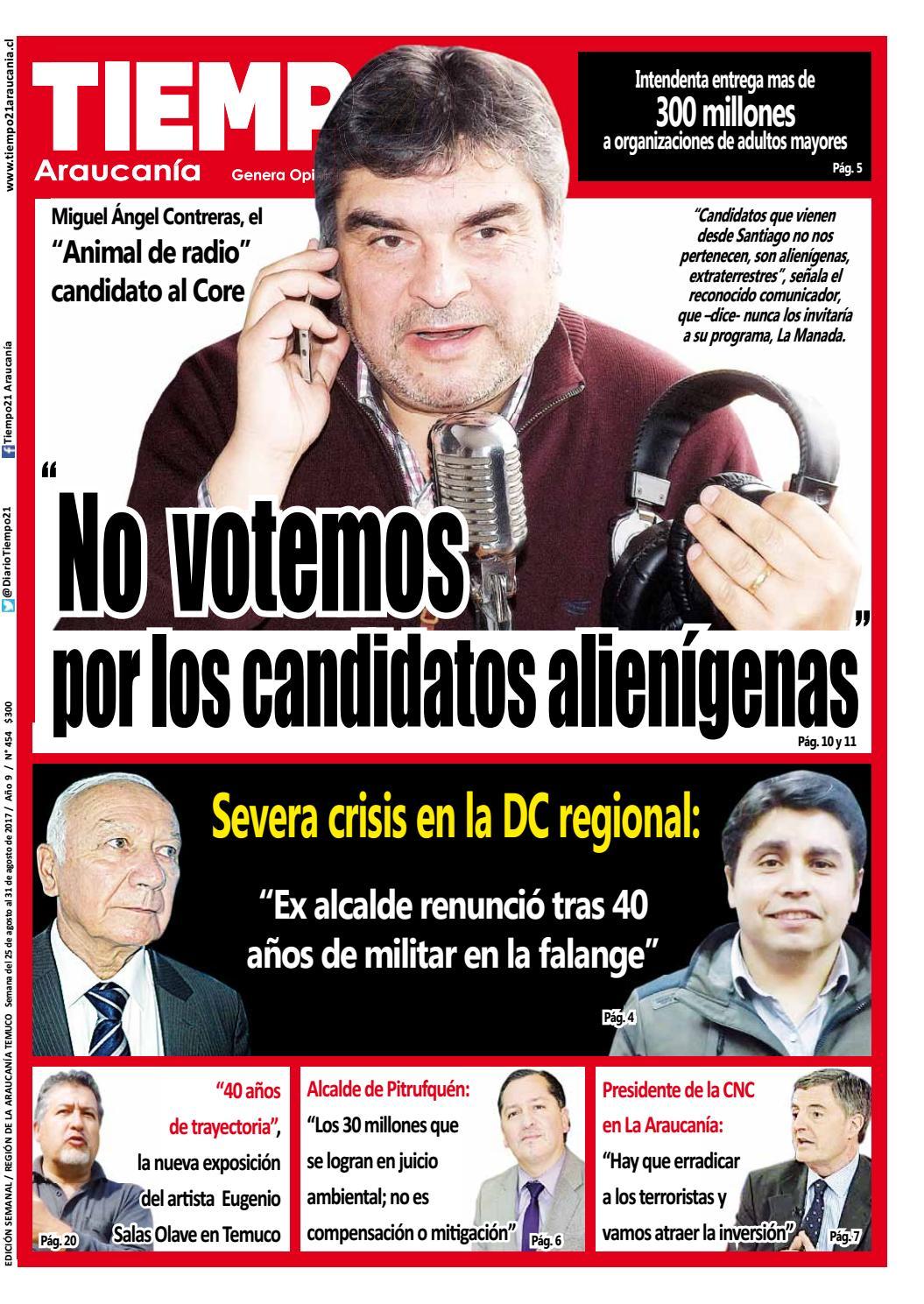 Edici N 454 Miguel Angel Contreras El Animal De Radio No  # Muebles Jouannet Temuco