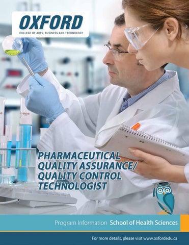 Pharma QA/QC Brochure by Najam Amin - issuu