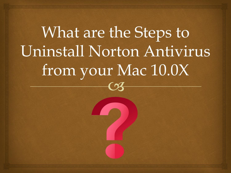 how to get rid of norton antivirus pop ups on mac