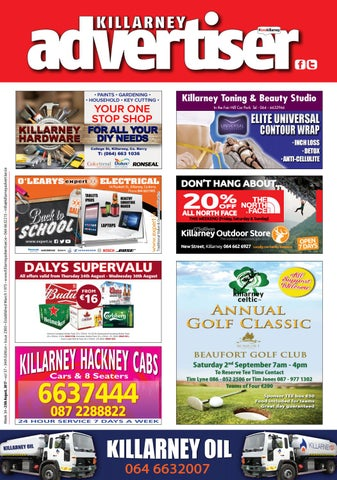 Killarney Advertiser 25th August 2017 By Killarney Advertiser Issuu