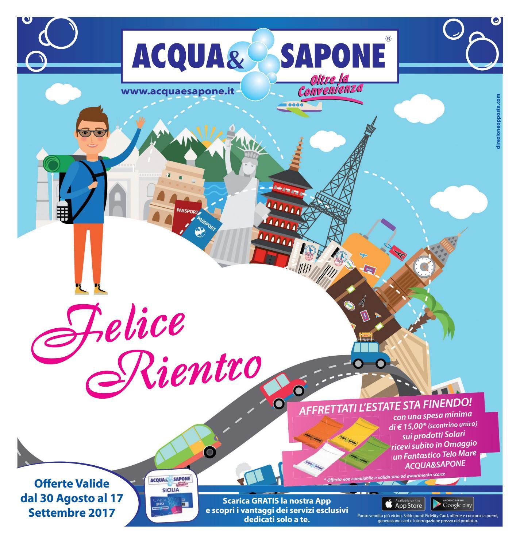 Volantino acqua sapone by acqua sapone sicilia issuu for Nuovo volantino acqua e sapone sicilia