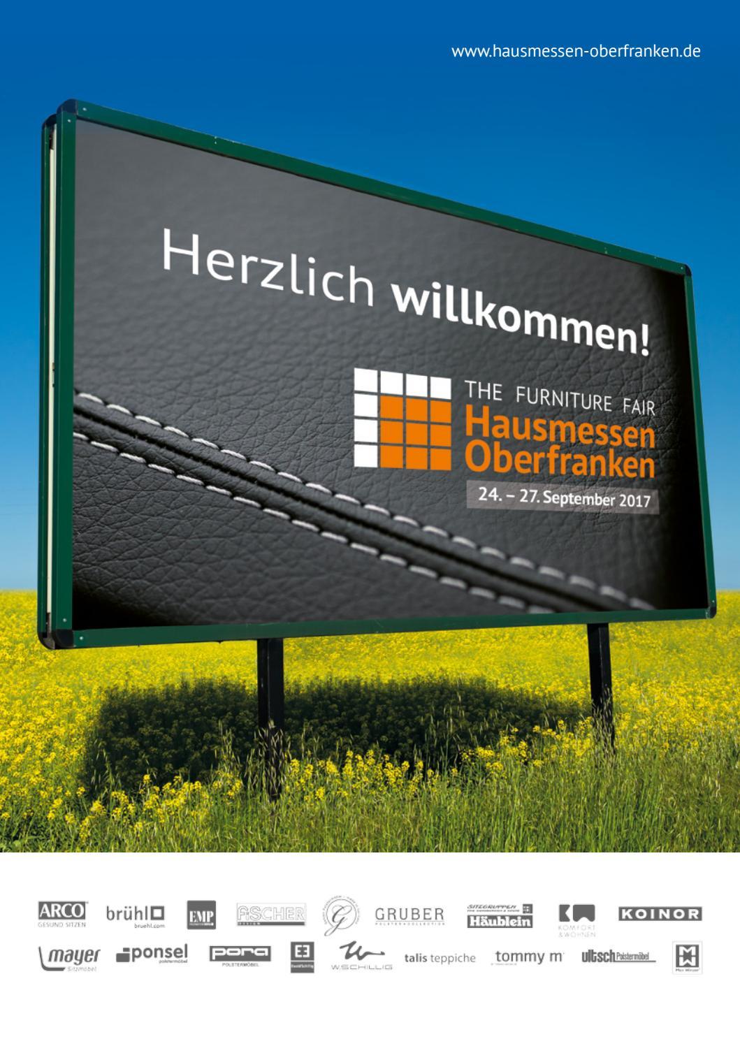 Hausmessen Oberfranken Messeführer 2017 by RSM. kommunikations ...