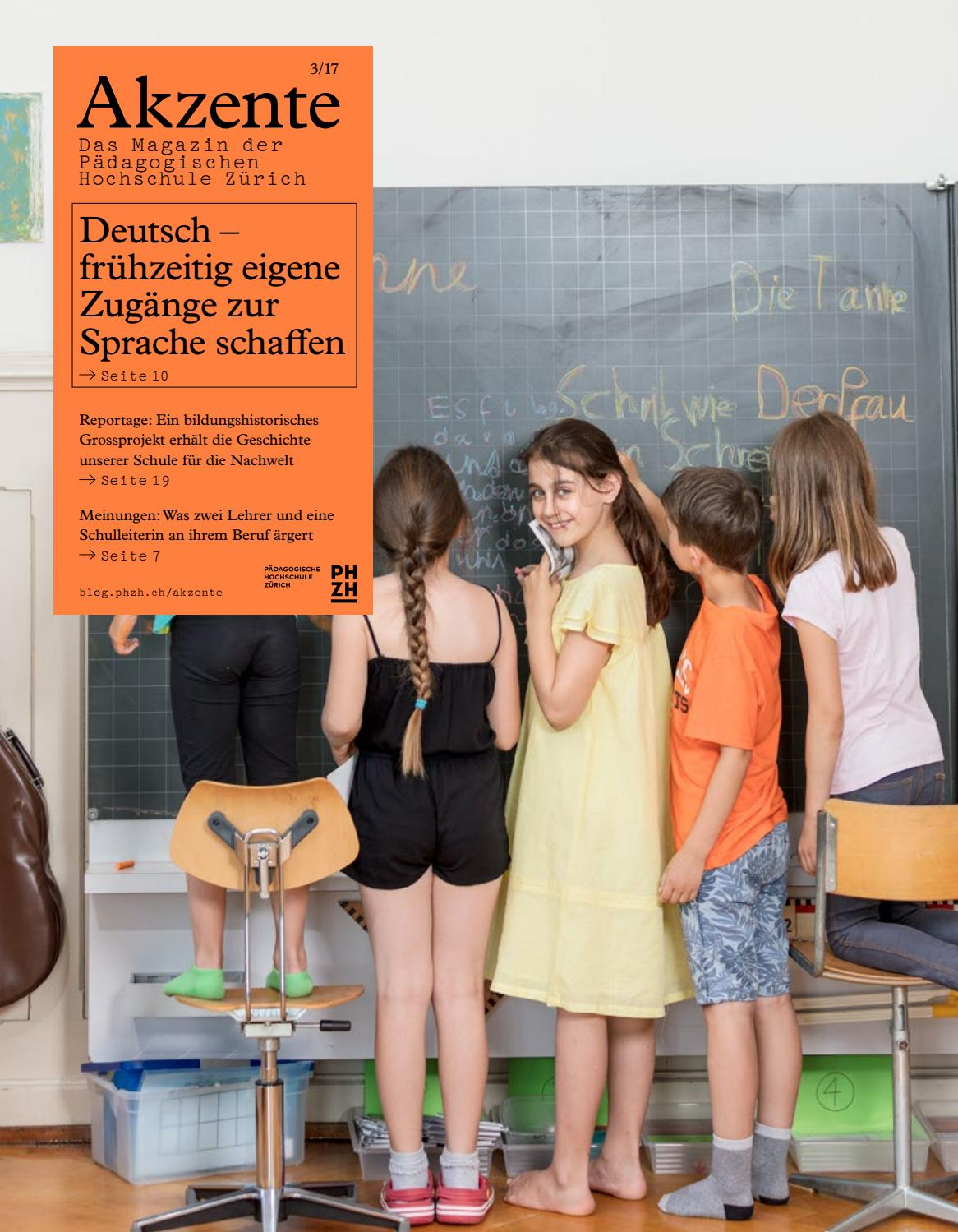 Akzente 3/2017 by PH Zürich - issuu