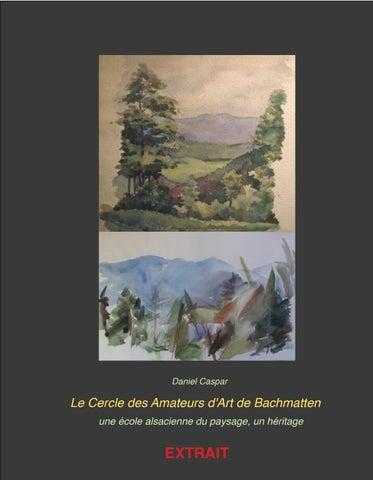 ee67270963a93 EXTRAIT Le Cercle des Amateurs d Art de Bachmatten – Une école ...