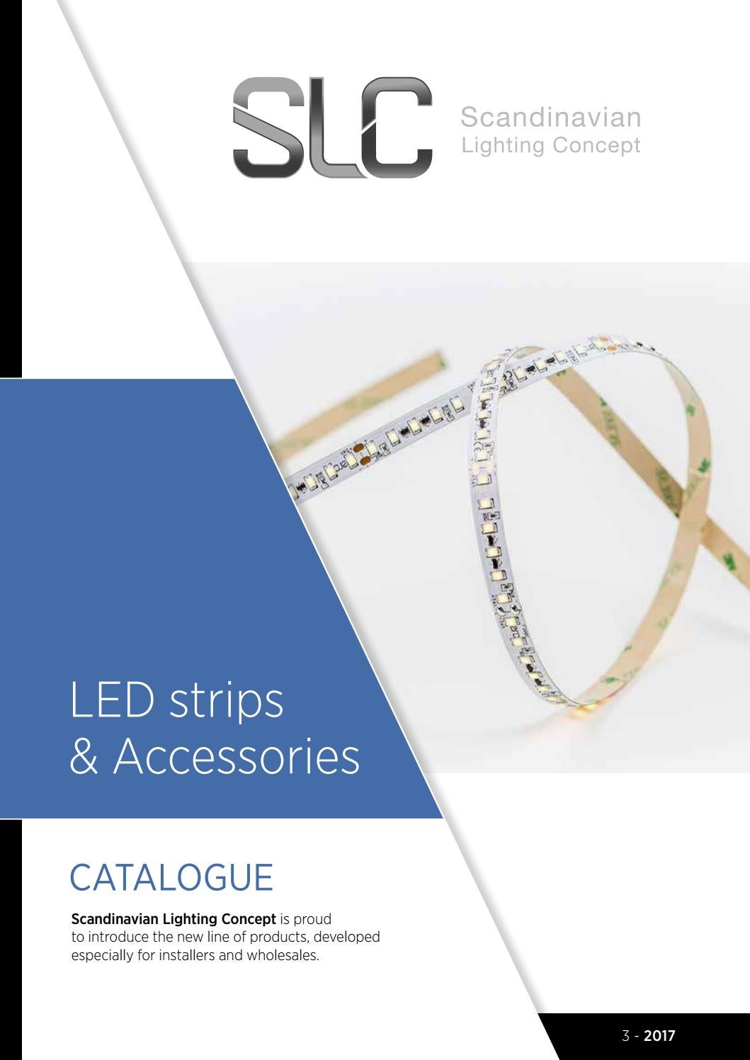 Slc Led Strips 2017 En By Lyskomponeter As Issuu Driver Powers Halogen Replacement