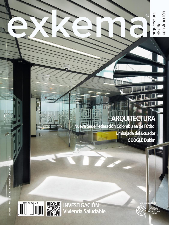 Revista exkema by academia colombiana de arquitectura y for Programas de arquitectura y diseno