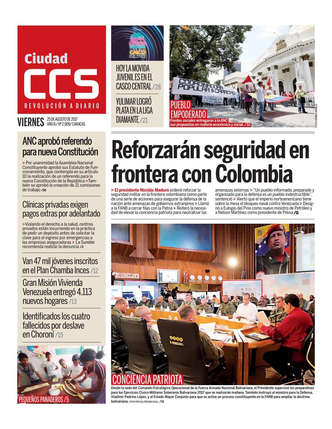 25/08/17 by Ciudad CCS - issuu