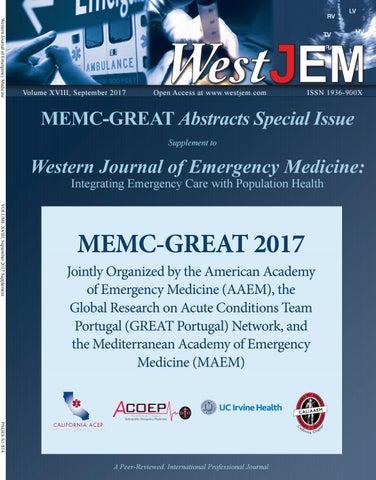 MEMC- GREAT 2017 by Western Journal of Emergency Medicine - issuu