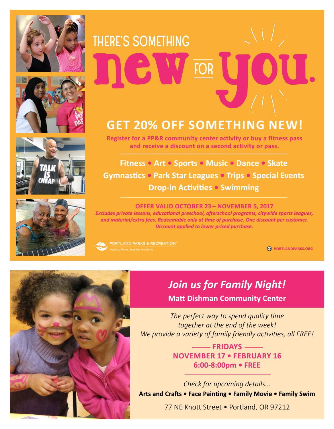 St  Johns Community Center Fall/Winter Activities 2017-18 by