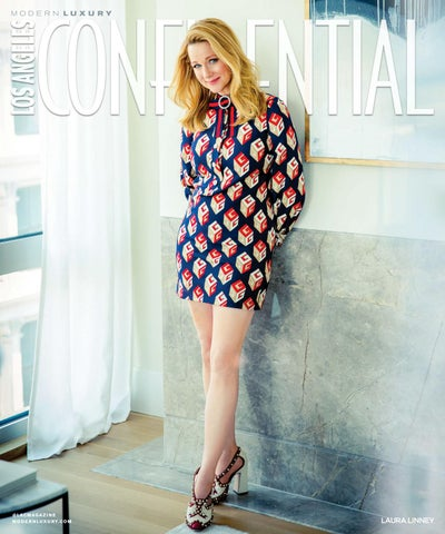 a16abe0aa Los Angeles Confidential - 2017 - Issue 4 - Fall - Laura Linney by ...