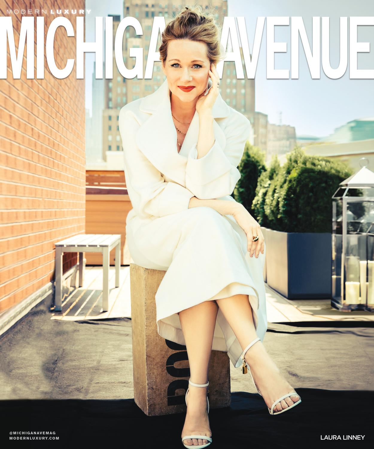 Michigan Avenue  Fall Laura Linney By Modern Luxury Issuu
