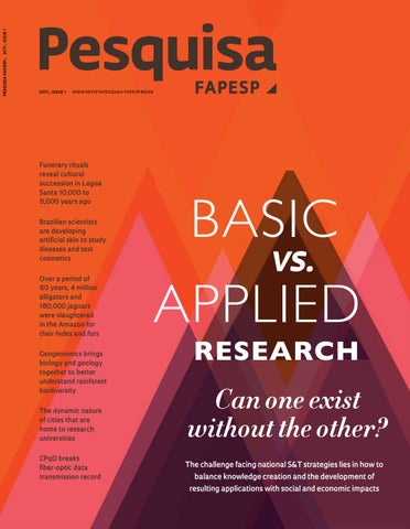 d3c0b383ad Basic vs. applied research by Pesquisa Fapesp - issuu