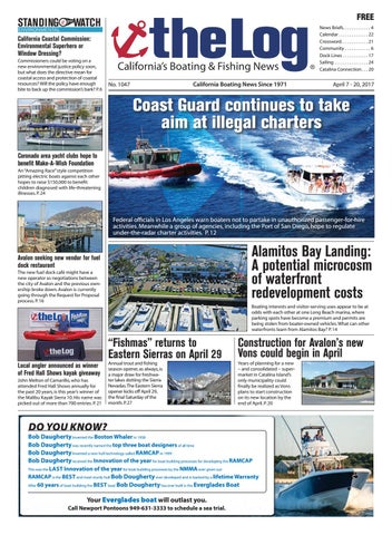 Feb Mar The Log Newspaper By Duncan McIntosh - Baja boat decals easy removallarson boat raised decal lsrorange