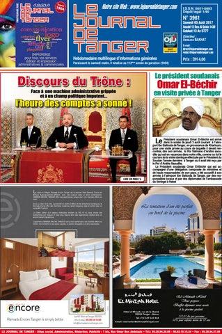 e5695418d08c6 Le journal de Tanger 05 août 2017 by Le Journal de Tanger - issuu