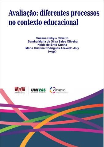 3e64ef7cb Avaliação  diferentes processos no contexto educacional by Carlos ...