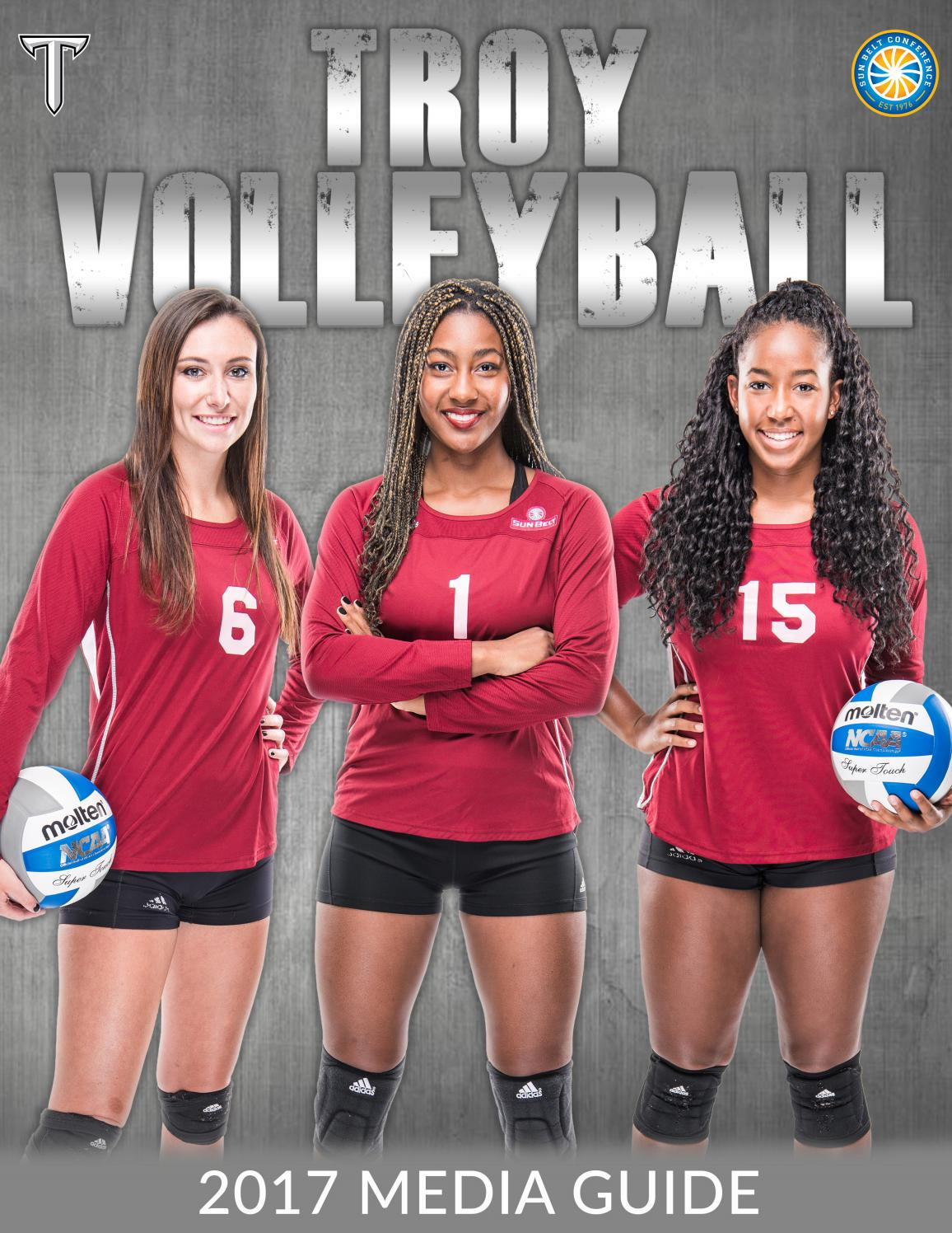 2017 Troy Volleyball Media Guide By Troy University Athletics Issuu