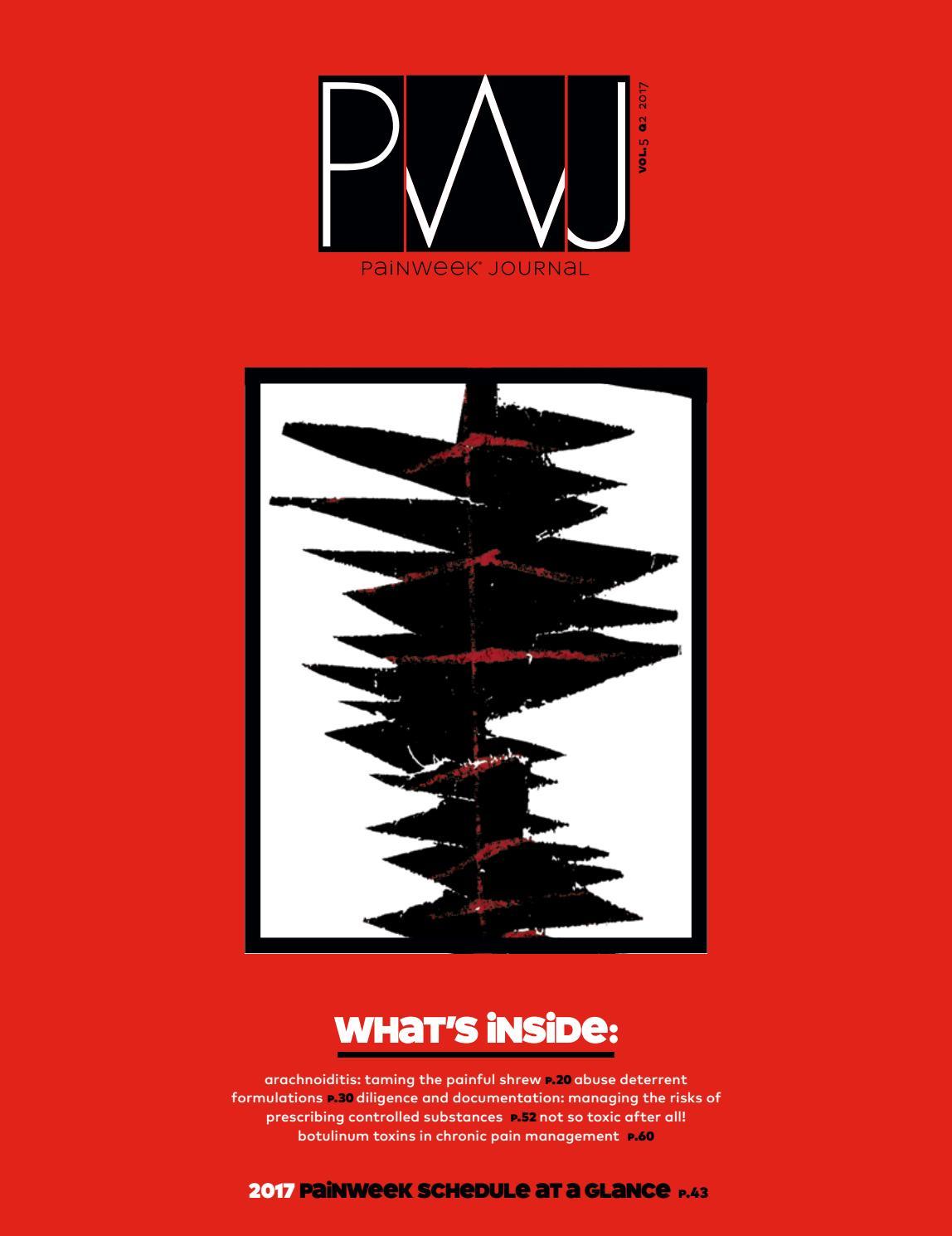 PAINWeek Journal Vol 5, Q2 by PAINWeek - issuu