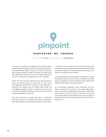 Page 10 of Pinpoint: Vancouver, BC, Canada