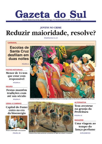 c6ea1ef490 Jornal Gazeta do Sul Ano 63 Nº 20 by Portal Academia do Samba - issuu