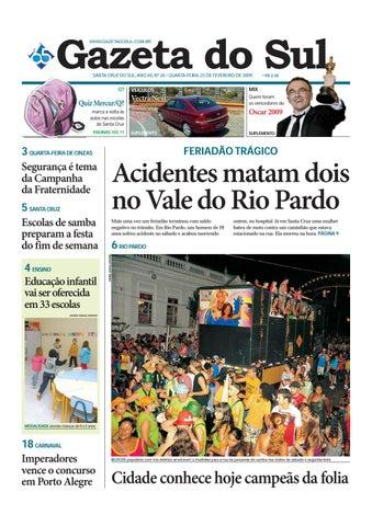 Jornal Gazeta do Sul Ano 65 Nº 26 by Portal Academia do Samba - issuu e1e79dc3d7000